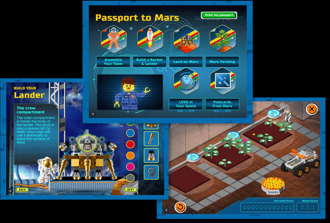 LEGO-screens